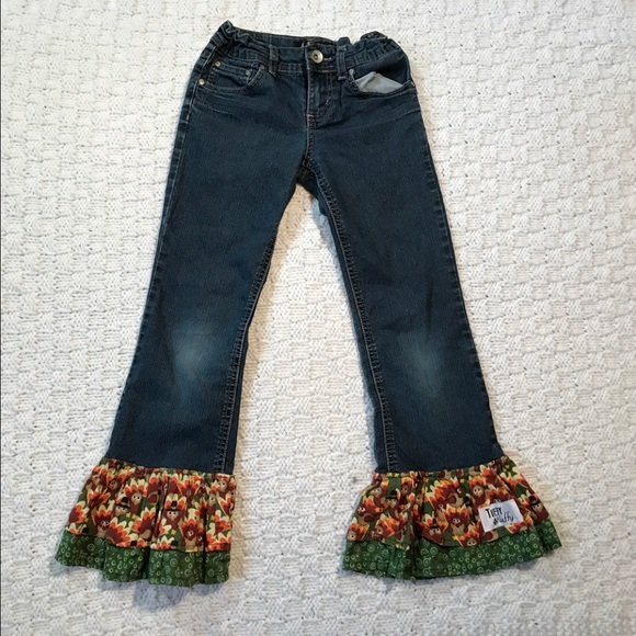 1db2f5b5dc5 lei Bottoms | Chelsea Laurise Boot Garter Jeans Girls | Poshmark